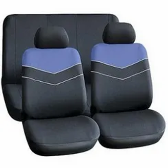 Universal Seat Cover (6 Piece) - Blue AUTO PARTS ONLINE SA
