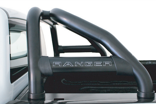 FORD RANGER ARTAV STAINLESS BLACK PREMIUM ROLL BAR 2012+ AUTO PARTS ONLINE SA