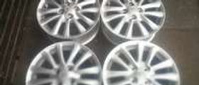 A set of Toyota etios mags 15inch rims