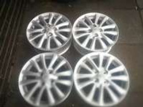 A set of Toyota etios mags 15inch rims AUTO PARTS ONLINE SA