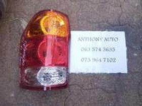 Toyota hiace left tail light AUTO PARTS ONLINE SA
