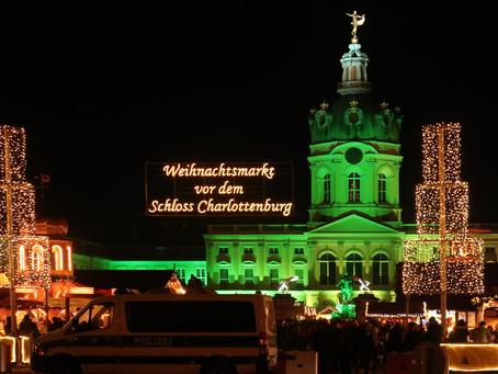 (ベルリンのクリスマスマーケット)シャルロッテンブルク宮殿のクリスマスマーケット