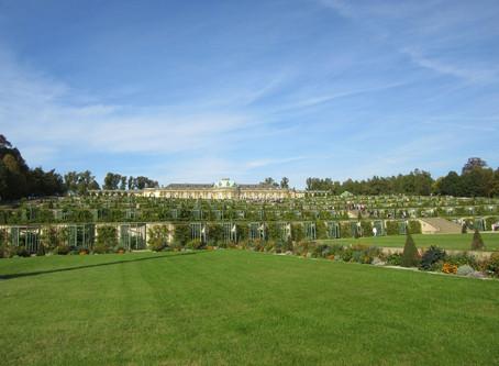 ベルリン、ポツダム、オラニエンブルクの宮殿、庭園のオープン状況(2020年5月10日)