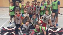 Hockey cosom : une nouvelle activité  sportive dans notre école