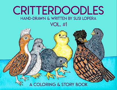 Cover of Critterdoodles Vol. 1