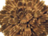 weird ceramic art, weird ceramic sculpture, susi lopera sculpture, ceramic flower, clay flower, clay flower art, ceramic flower sculpture, ceramic eye, susi lopera art, susi lopera, surrealist art, ceramic sculpture, hand sculpture, hand art, hand petals, community sculpture, community art, lotus sculpture, lotus art