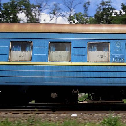 Passenger Rails train image from torange
