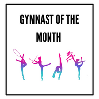 Gymnast Of The Month