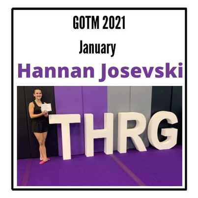 January GOTM Hannan Josevski