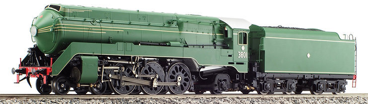 Argyle C38 4-6-2, Streamlined, Green & Black