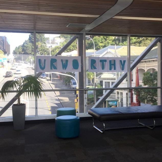 U R WORTHY | Victoria University Wellington