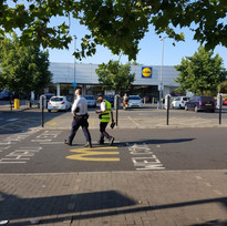 Lidl, Oxford Road | 4/8/2020, 8.10 am