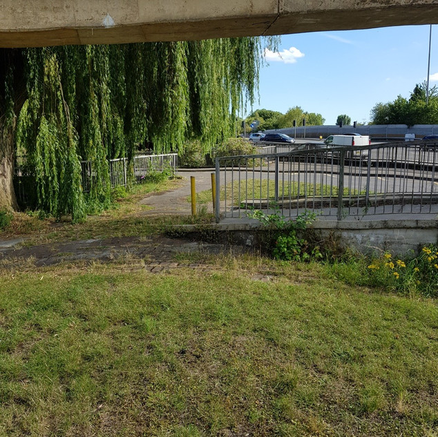View from Smiley Stump | A329 Flyover