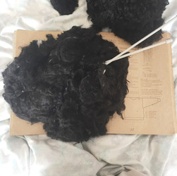 Wool Cycle | Pup to Sweater, in progress