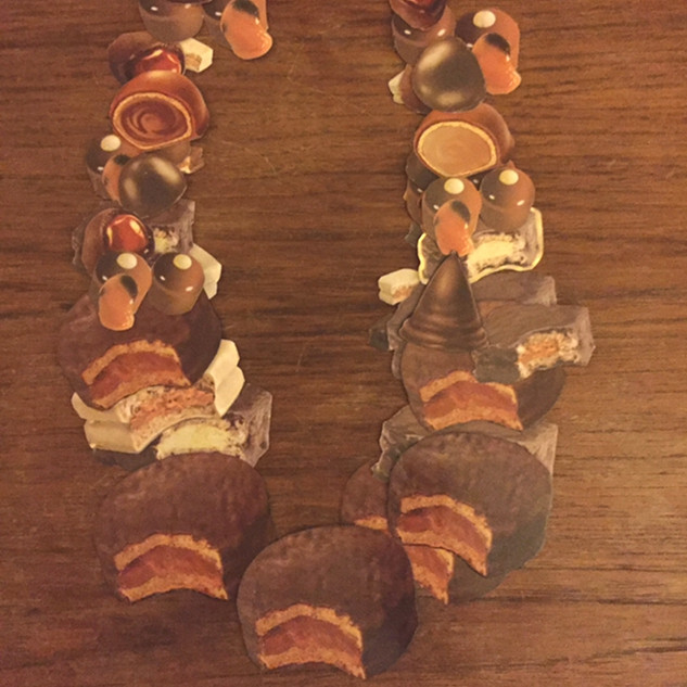 Cacao (from the addiction series) Necklace by Laila Costa