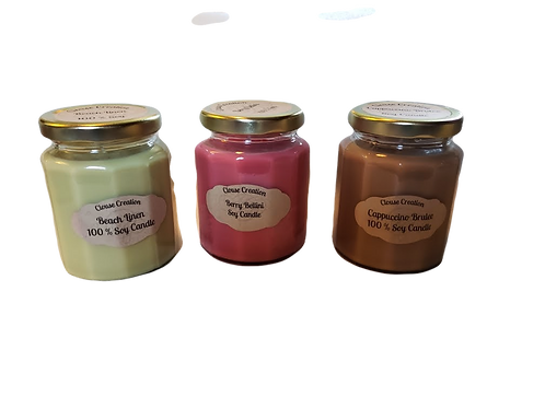Winter Scented Small  Candles
