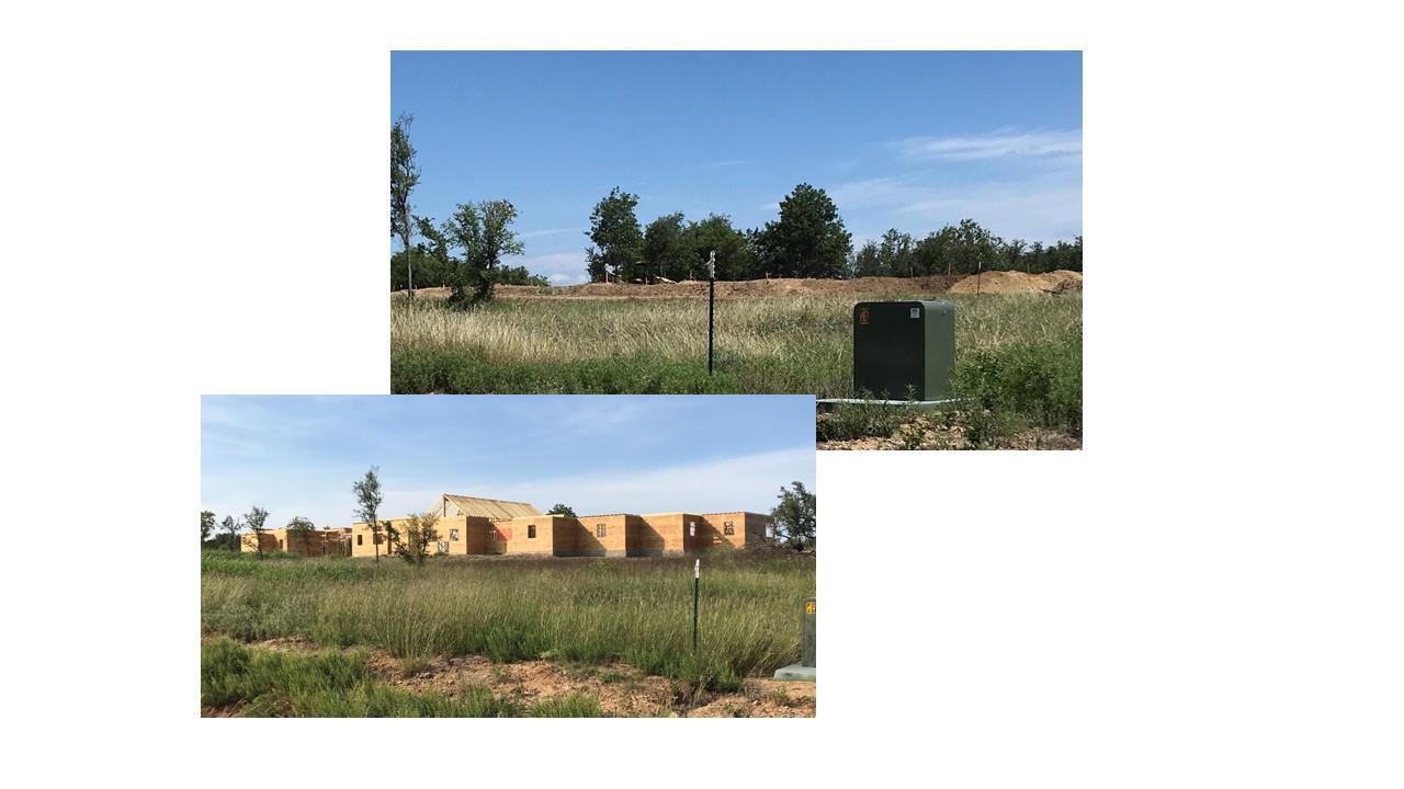Estates' 1st Home Construction Begins