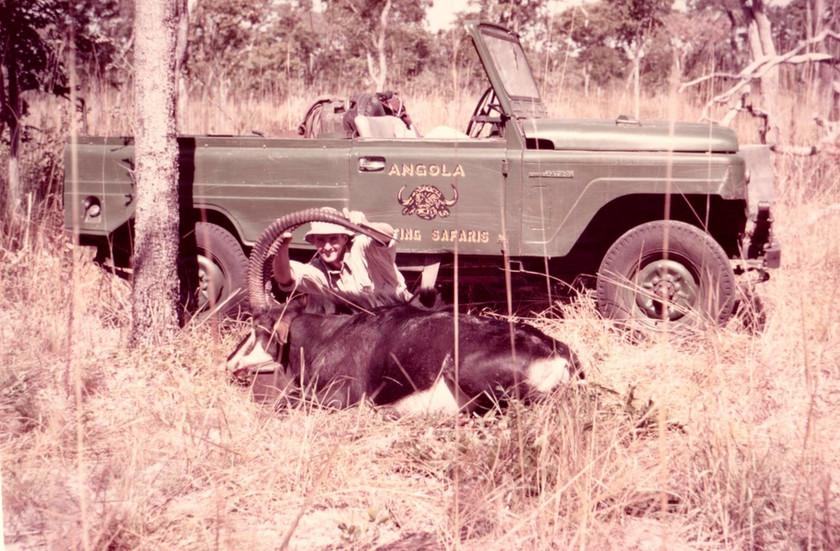 Angola -John B Collier IV(1st Safari, age 19)