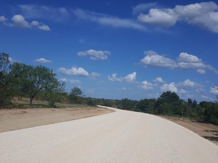 Road Construction Begins