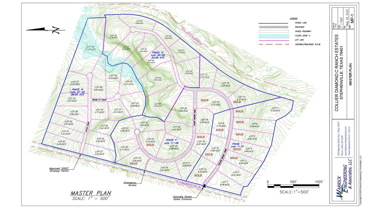 Diamond C Ranch Estates - Master Plan