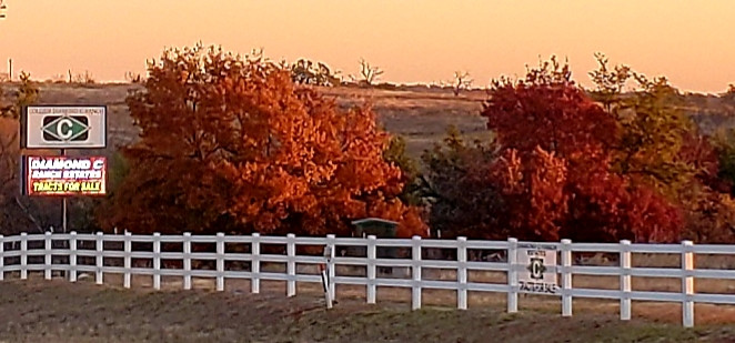 Red Oak Ridge in Fall