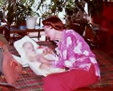 Mamo with Christi