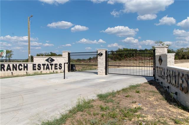The only gated subdivision in Erath County