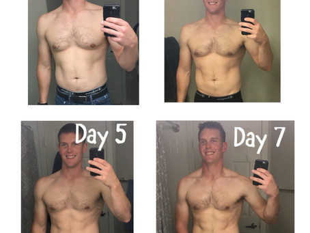 "My 7 Day ""Cut"" Experience"