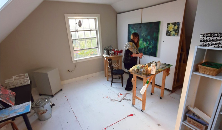 studio space with Kate