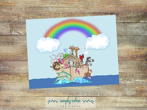 Printable - Noah's Ark