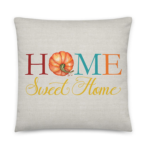 Pillow - Home Sweet Home Pumpkin