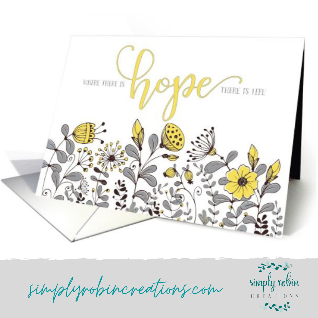 Hope quote card