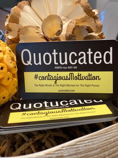 #getQuotucated