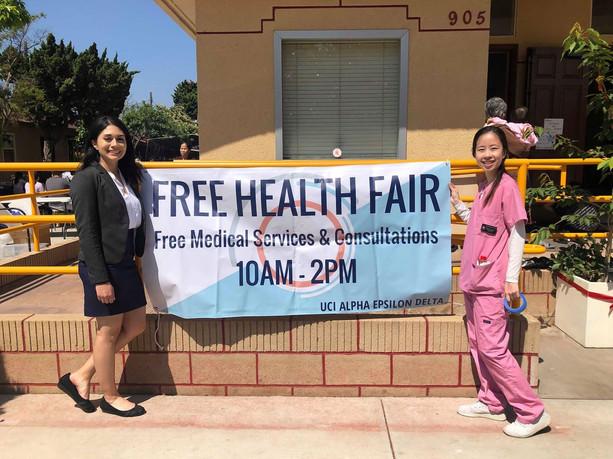 Free Health Fair 2019