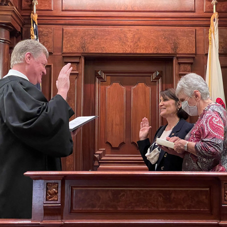 Swearing-in ceremony held for Sen. Sally Turner in Senate Chamber