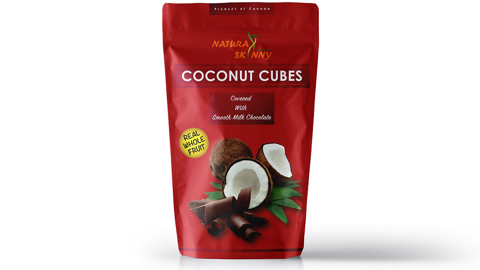 Coconut Cubes Milk Chocolate