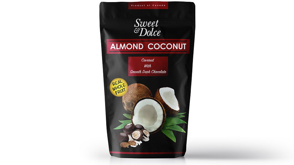 Almond Coconut Dark Chocolate