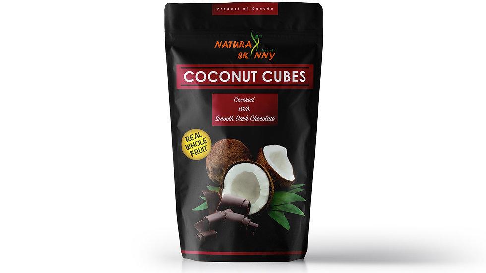 Coconut Cubes Dark Chocolate