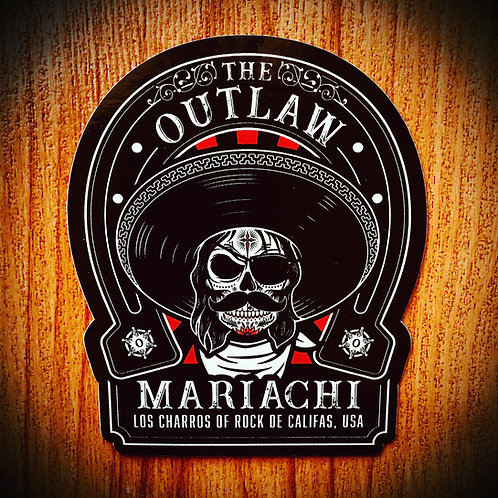 THE OUTLAW STICKER (2 PACK)