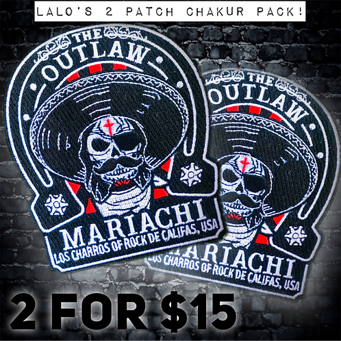 LALO'S 2-PATCH SHAKUR PACK