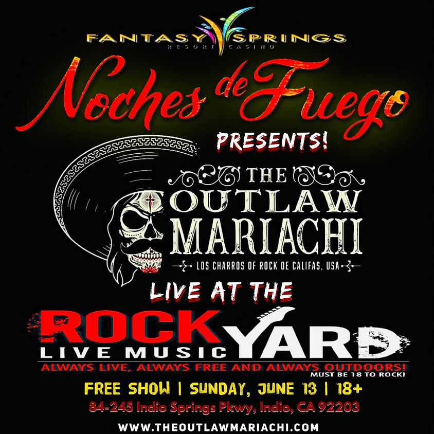 Rock Yard at Fantasy Springs Casino in Indio, CA.