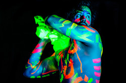 Josh modelling for Neon Naked.