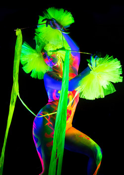 Françoise modelling for Neon Naked.