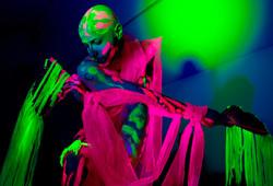 Dominic Blake modelling for Neon Nak
