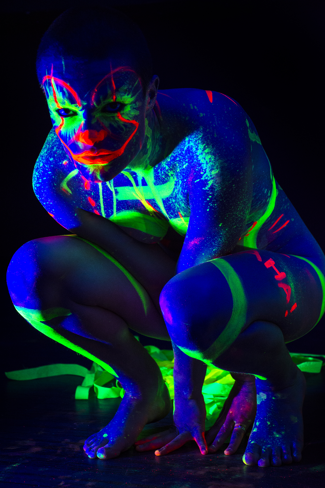 Lilith modelling for Neon Naked.