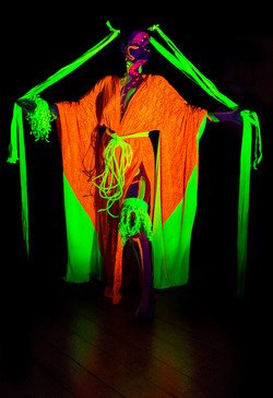 Francoise modelling for Neon Naked.