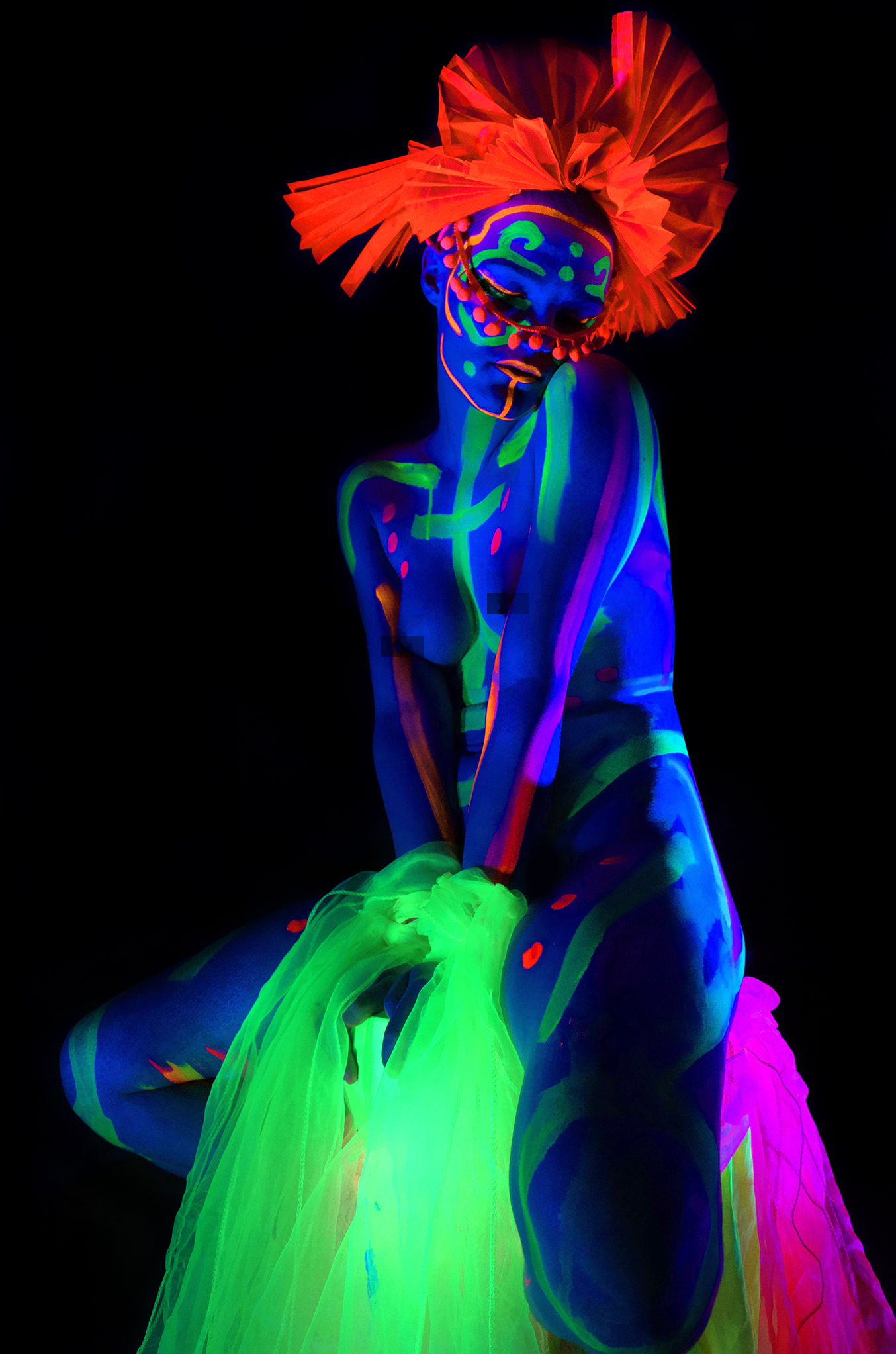 Lilith modelling for Neon Naked