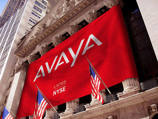 Congrats to Avaya for now being on the New York Stock Exchange