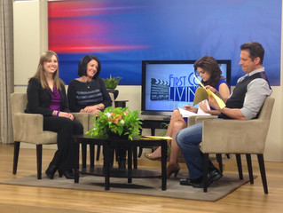 Florida Pancreas Cancer Coalition on First Coast News Promoting First Annual Culhane's Celtic Charit