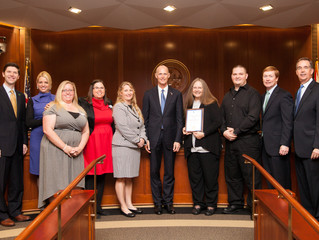 Florida Cabinet and Volunteer Florida Recognize St. Augustine Lighthouse Volunteer with Champion of